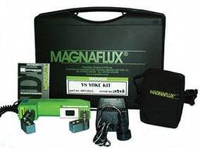 Магнитный метод неразрушающего контроля (магнитопорошковый контроль) обнаруживает дефекты в ферромагнитных металлах