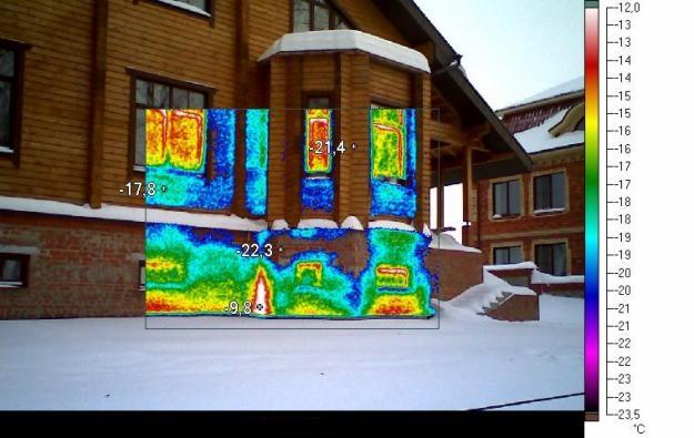 Тепловизионное обследование зданий и сооружений, домов, бюджетных учреждений