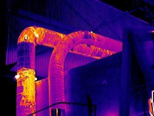 Тепловизионный контроль утечек тепла позволит экономить энергоресурсы