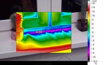 Виды дефектов, которые выявляются тепловизионным обследованием зданий и сооружений