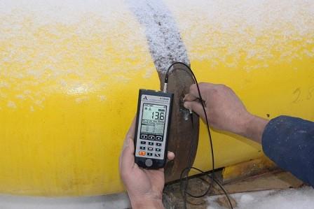 Экспертная компания Эталон проводит ультразвуковую толщинометрию