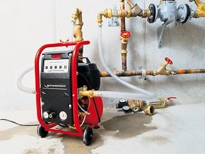 Для гидропневматической промывки мы используем только надежно оборудование иностранного производства