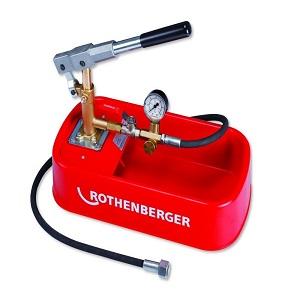 Насос для проведения гидравлического испытания и опрессовки системы отопления